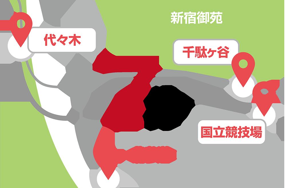 教室までの地図